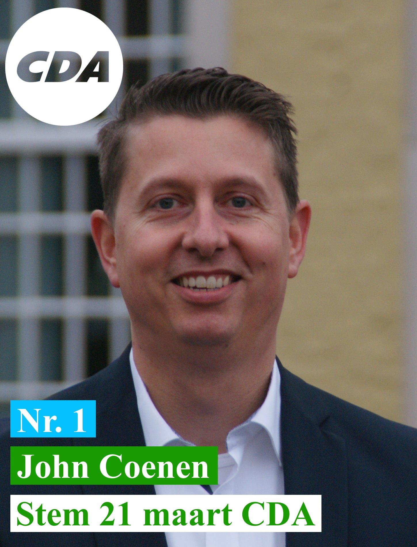 John Coenen CDA VAALS