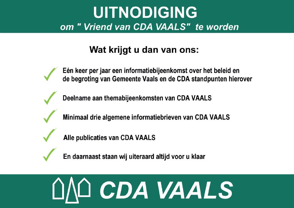 John Coenen Fractievoorzitter Lijsttrekker CDA Vaals Vijlen Lemiers Vriend