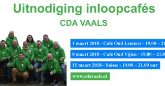 Inloopcafés Vaals Vijlen Lemiers CDA