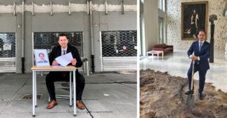Wethouder John Coenen Overeenkomst Provincie Limburg Vaals